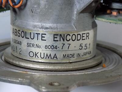 Okuma Osp Absolute Encoder Abs-Fb-D2048 3