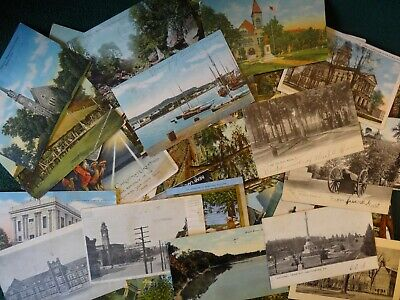 ~ Lot Of 50 + Vintage Postcards *** Reopen Your Doorway To The Past = 🔑 12