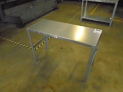 5 Of 9 Galvanized Steel Work Bench Table Commercial Industrial Garage  Masterpunching