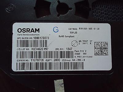 NEW 2000 pcs. OSRAM LOT# HE3462C197, PROD.# 11078708, BATCH# 1006173073 2