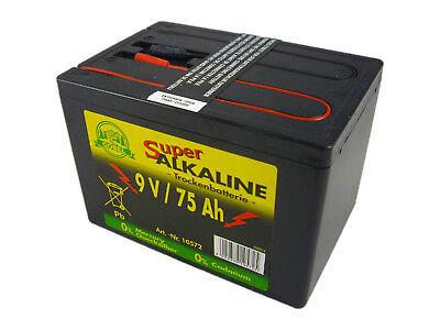 AKO Weidezaunbatterie 350681 Batterie Alkaline 9 Volt 75 AH