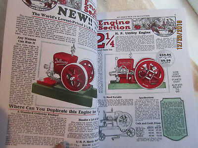 1929 Silver Anniversary William Galloway Gas Engine Catalog Section 2