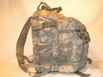 US ARMY ACU ASSAULT PACK 3 DAY MOLLE II BACKPACK w/ Stiffener VGC Made in USA 4