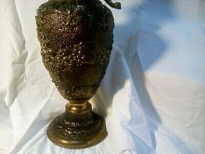 jarron bronce siglo XlX . cincelado por artesanos de Córdoba. Modernista 5 kg 8