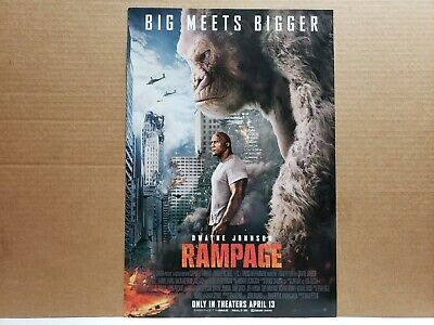 MOVIE POSTER 22x34-15674 FULL FORCE RAMPAGE