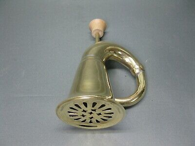 Messing poliertl  Stethoskop Hörrohr Hearing Pipe  Hörverstärker 20 cm 7