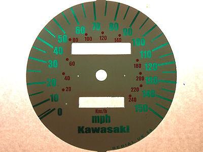 Kawasaki Zr-7 (Zr750F1-F5) 1999-2003 Replacement Mph Speedo Clock Dial Underlay 2