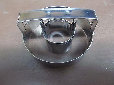 Tin-Plated Steel Fox Run 5754 Donut Cutter 3-Inch