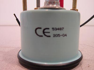 Teleflex Voltmeter 53487, 20-32V, Appears Unused, 6620012853368, Hardware Incl 2