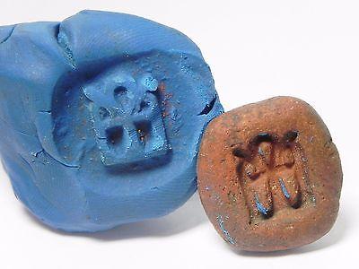 Zurqieh -Q225- Ancient Egypt , New Kingdom Terracotta Mould. 1400 B.c 4