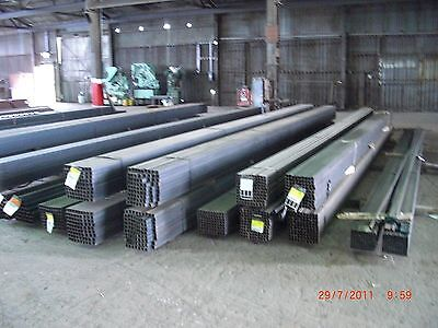 "STEEL SQUARE TUBING  1""x 1""x 16 GA  x  24 ft long hot rolled 3"