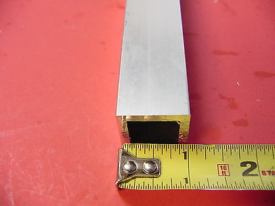 "1""x 1""x 1/8"" Wall x 12"" Long ALUMINUM SQUARE TUBE 6063 T52 1""SQ x .125"" 2"