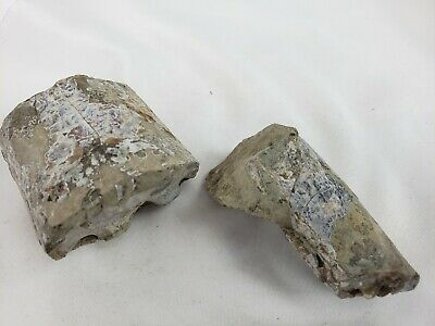 Lot of two pre-colombian artifacts (stone or pottery) 10