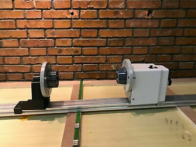 Pro 54'' 64'' 74'' Auto Media Take up Reel System Paper Pickup Roller with Motor 8
