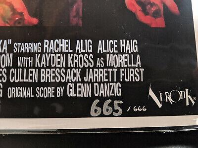 VEROTIKA - Throwback 70's Style LOBBY CARDS LTD Edition 1-666 Danzig Horror 9