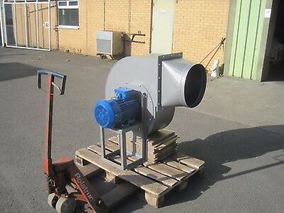 Large Industrial Centrifugal Blower Fan 4KW 2900rpm 10500m3/hr high pressure 7