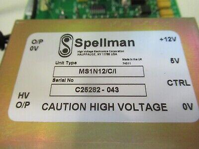 SPELLMAN HIGH VOLTAGE POWER SUPPLY for HAMAMATSU PHOTOMULTIPLIER PIC &79-A-21 5