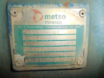 "RX-3620, METSO HM150 FHC-D 6"" x 4"" SLURRY PUMP W/ 75HP MOTOR AND FRAME"