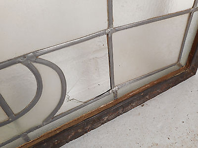 Large Vintage Stained Glass Window (1512)NJ 5