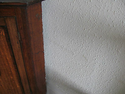georgian oak corner cupboard corner cabinet 5