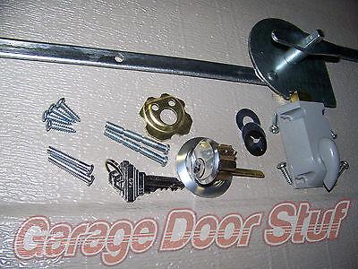 Garage Door Lock Set 1 Car Door Extension Spring 3040 Picclick Uk