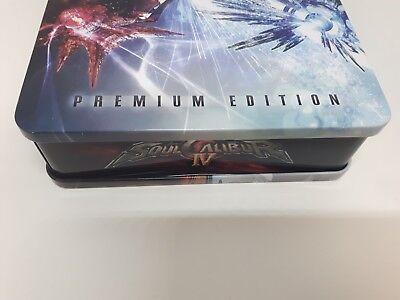 Soul Calibur IV 4 -- Premium Edition (Microsoft Xbox 360, 2008) NTSC 9