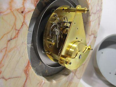 Antique Pendulum Clock Mecanique Bayard Vintage Clock Pendulum Orologio 9