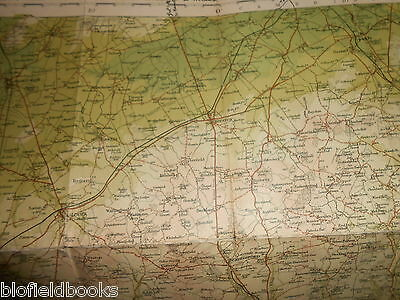 Bartholomew's Survey Map for Tourists & Cyclists - Bedford/Hertford - c1915 (25) 6