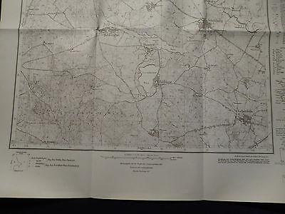 Landkarte Meßtischblatt 3054 Schildberg / Golenice bei Soldin i.d. Neumark, 1930