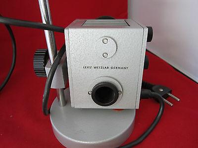 Microscope Pièce Leitz Wetzlar Allemagne Lampe Illuminateur II Bin #4 2