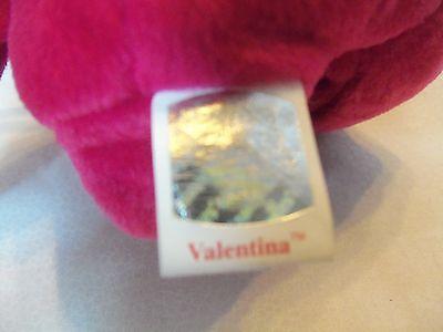TY Beanie Babies Beautiful Fushia** VALENTINA ** 5th Generation New w/ Tag