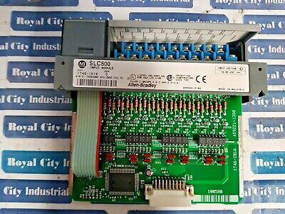 Allen Bradley 1746-Ib16 Ser C Input Module Slc500 3