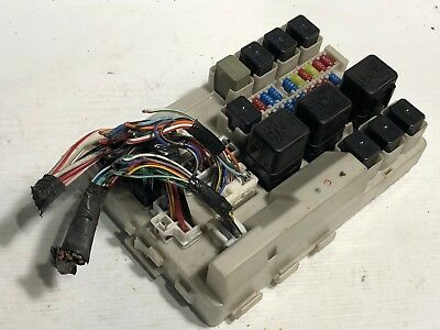 1 of 6only 1 available 2007 2008 infiniti g35 interior fuse box body  control module unit bcm bcu oem ! 2