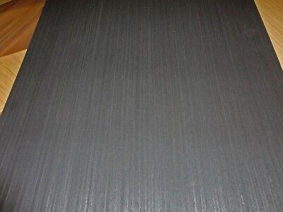"Ebony Black /& White wood veneer composite 24/"" x 120/"" on paper backer 1//40/"" # 980"