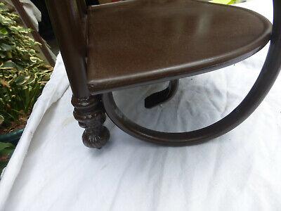 Antique Style Ornate Metal Shelf 3