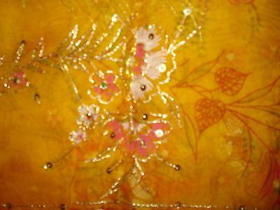 Ladies Indian Crepe Silk Saree 7