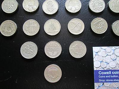 Seltenes Andenken Ein Pfund Münzen Selten Britischer Münze 1983