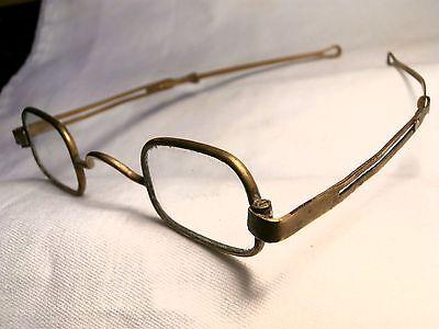 Bürgerkrieg Messing Brille: 567ms in lackiert Papiermache Hülle