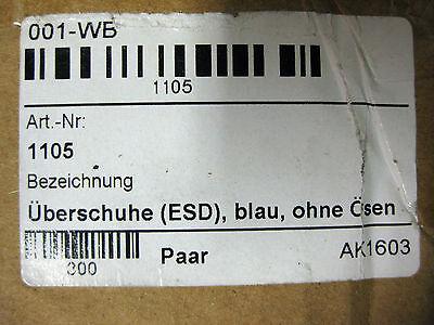 600 Stück Einweg-Überziehschuhe DPV Gr. 35-48 universal (5x120 Stück) Überschuhe