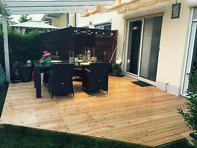 Terrassendach Alu 10 mm VSG + Sonnensegel Terrassenüberdachung 9 m breit Glas