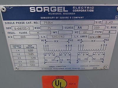 Perfect Sorgel 75 Kva Transformer 600