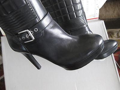 Rockport Women's Janae Pump Leather Nude Booties Heels