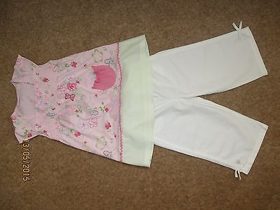 Girls NEXT Outfit Trousers / Top Age 2-3 Years 2