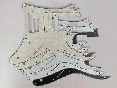 SCRATCH PLATE Pickguard for IBANEZ JEM or RG Japan electric guitar in 10 colours 2