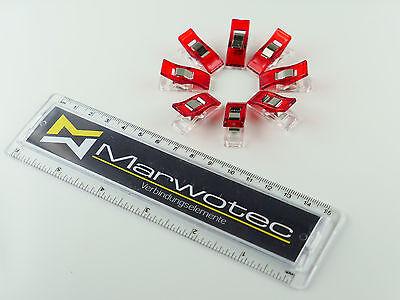 10 - 200 Stück Wonder Clips Nähklammern Stoffklammern Nähzubehör Wonderclips 8