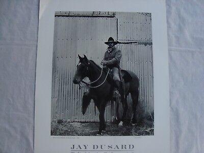 80ab35461a2d5 ... Jay Dusard Cowboy Portrait Poster Skeeter Clark