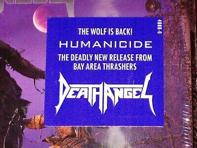 Death Angel: Humanicide CD 2019 Bonus Track Nuclear Blast USA 4888-0 Digipak NEW 2
