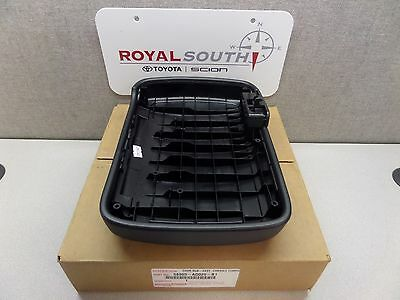 For Toyota Tacoma 12-15 Dark Gray Leather Center Console Armrest Lid Genuine