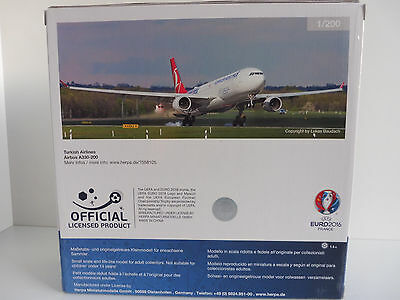 Herpa Wings 1:200 Airbus a 330-300 Turkish Airlines em 2016 558105