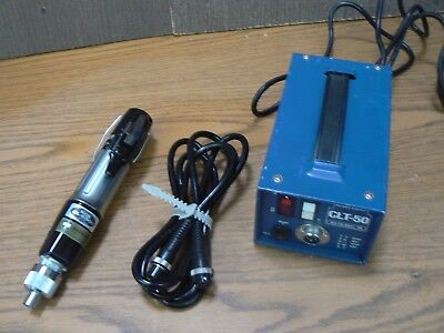 Hios Mountz Cl-6500 Torque Limiting Power Screw Driver & Clt-50 Power Supply 5
